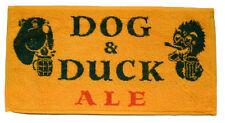 DOG & DUCK ALE Pub Beer BAR TOWEL