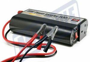 Maypole MP56050, Power Inverter with USB 500W - 12V > 230V