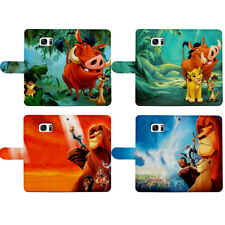 Simba Timon Pumbaa The Lion King Flip Wallet Cover fit for Google Huawei Stylo 5