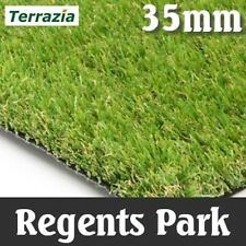 Artificial Grass Instant Lawn Realistic Fake Turf quality sample 'Regents Park'
