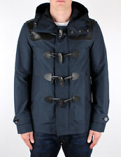 Burberry Brit Duffle/Parka Coat Jacket Navy Blue Large L New w/Tags