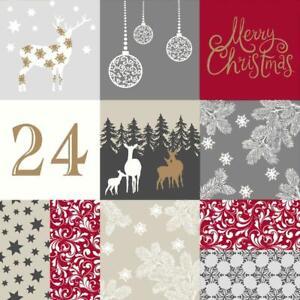 Baumwolle Stoff Weihnachten Weihnachtsmotiv Merry Christmas Meterware Deko Stoff