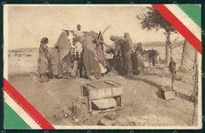 Militari Occupazione Italiana Eritrea Ethnic cartolina XF6270