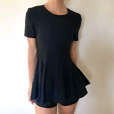 COS Womens Black Top Size XS