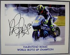 VALINTINO ROSSI signed Print
