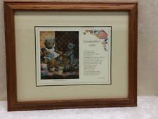 Windsor Art Products Solid Oak Wood Frame Art Print Picture Grandmother's Love