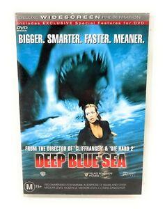 Deep Blue Sea (DVD, 1999) Saffron Burrows Region 4 Free Postage