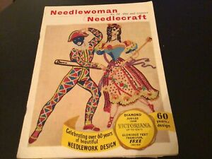 Needlewoman and Needle Craft.1950s Magazine. Number 84 Diamond Jubilee Issue