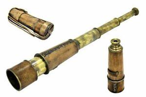 NAUTICALMART Brass Nautical Antique Telescope - 18 inches Long Christmas gift