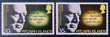 1974 Pitcairn Island Decimal - Birth of Winston Churchill Centenary - Set 2 MNH