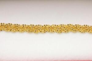 916/22ct sparkling attractive indian gold bracelet *Boxed*