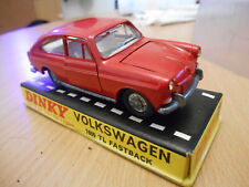 Dinky toys volkswagen 1600 tl fastback boxed box