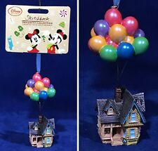 NEW - Pixar UP HOUSE with BALLOONS - Christmas DISNEY SKETCHBOOK ORNAMENT 2016
