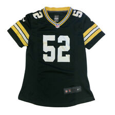 Nike On Field Green Bay Packers Clay Matthews #52 Green Football Jersey Medium