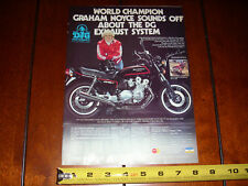 1980 HONDA CB750F DG PERFORMANCE GRAHAM NOYCE - ORIGINAL AD
