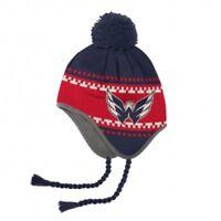 Reebok NHL FACE OFF Tassle Knitted Pom (Mütze) WASHINGTON CAPITALS (uvP € 24,95)