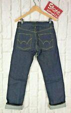 Edwin Japanese Cloth 12oz Rigid Blue Jeans Button Fly Straight Leg W29 L30 £165