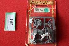 Juegos taller Warhammer alto elfo plata ley Helms abanderado Nuevo Y En Caja De Metal GW