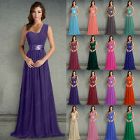 New Chiffon Evening Party Ball Wedding Formal Prom Bridesmaid Gown Dress 6-26