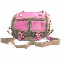 George Gina & Lucy Schultertasche Jacky London call of the wild Braun / Pink NEU