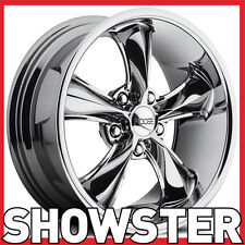 "17x7 17x8 17"" Foose Legend wheels chrome Ford Falcon Mustang 66 67 68 69 Valiant"