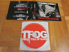 COMBICHRIST Throat Full Of Glass 2011 GERMANY CD single