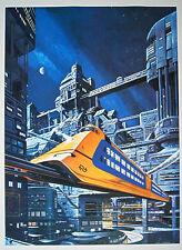 Poster NL Eisenbahn Werbeposter Don Lawrence ( Storm Trigan )