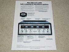 Marantz QUAD 2440 Amplifier Ad, 1 page, Features, SQA-1 Decoder, Info