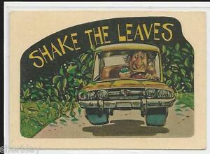 1978 CB Sticker Convoy Code Donruss Trading Card Sticker # 22 Shake the Leaves