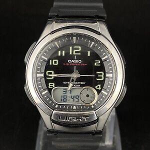 Vintage Casio Illuminator Telemomo 30 Japan Made 3793 Men's Wrist Watch Working