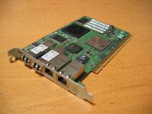 HP Integrity PCI-X 133MHz 4Gb FC AND 1000BT Adapter AD194A AD194-60001