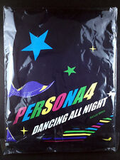 Persona 4 Dancing All Night Yu Narukami T-shirt L Size Black Atlus Animate LTD