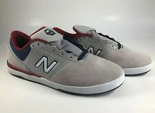 new balance numeric 533 V2, Sz 10.5 Skateboard Shoes.  grey/red/blue