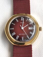 Vintage 1976 Timex Marlin Manual Wind Watch.