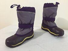 KAMIK Winter Snow Boots w/Felt Liners Purple Size 4