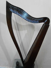New Beautiful 36 String Lever Harp with Square Sound Box best christmas gift
