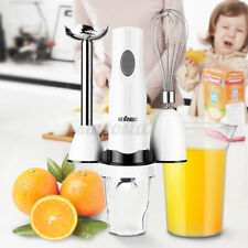 Electric Food Blender Mixer Multifunction Hand Held Chopper Egg Whisk Kitchen
