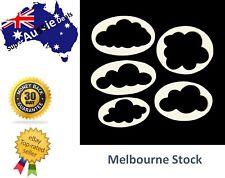 5 Pcs Clouds Cookie Cutters Fondant Biscuit Cutters High Quality