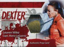 Dexter Seasons 7 & 8 San Diego Exclusive Prop Card CCP4 LaGuertas Earring #09