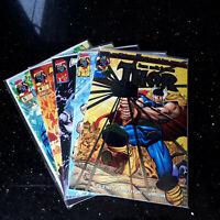 """COMICS """"THOR - RÜCKKEHR DER HELDEN""""   Marvel 2000   Band 1 - 5   Zustand 0/1 bb"""
