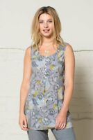 75% OFF HUGE SALE - Nomads Printed Tunic Vest in Cotton, size 8 - LN42 FairTrade