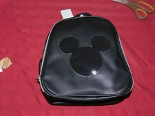 NWT! Disney Parks Mickey Mouse Official Pin Trading Display Backpack Bag Charm