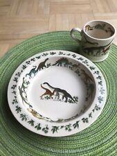 Dinosaur Pottersauraus Essteller/Plate, Schüssel/Bowl, Kinderbecher/Mug