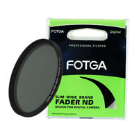 FOTGA 86mm Slim Fader Neutral Density ND Filter Variable Adjustable ND2 to ND400