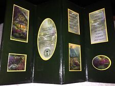 """A Beautiful Thomas Kinkade Folding Picture Frame Featuring """"a Quiet Evening """""""