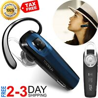 TOORUN M26 Black Steel Waterproof Bluetooth Headset with OEM JABRA CAR CHARGER
