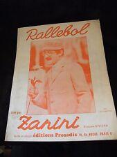 Partition Rallebol Zanini Music Sheet