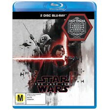 Star Wars The Last Jedi Blu-ray 2-disc Australian Limited First Order Sleeve
