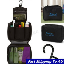 c01585ec7519 Mens Wash Bag Waterproof Travel Toiletry Hanging Makeup Cosmetic Organizer  Case