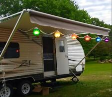 RV Patio Lights Party Porch Backyard Awning String Lamp Multicolor Globe Outdoor